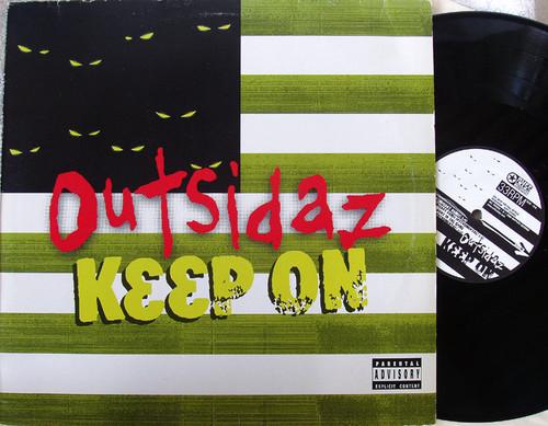 """Hip Hop -  OUTSIDAZ Keep On 12"""" Vinyl 2000"""