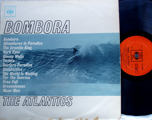 Australian Surf Rock - THE ATLANTICS Bombora  Vinyl 1963