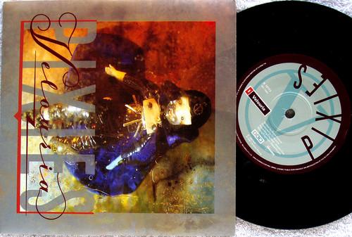 """Indie Rock - PIXIES Velouria  7"""" Vinyl 1990"""