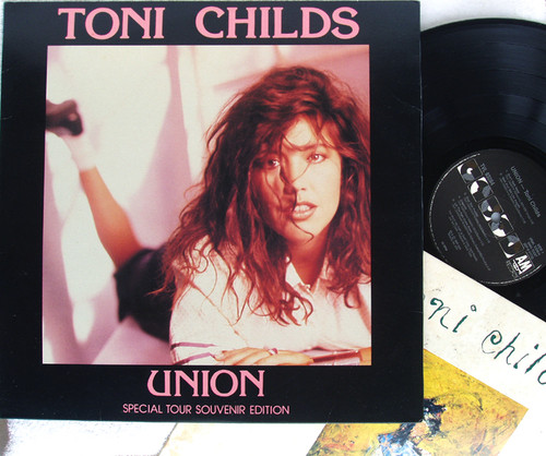 Pop Rock - TONI CHILDS Union (Special Tour Souvenir Edition) NZ Vinyl 1988