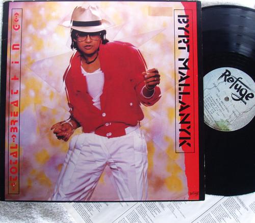Pop Rock Reggae - BYRT MALLANYK Total Breathing  Vinyl 1985