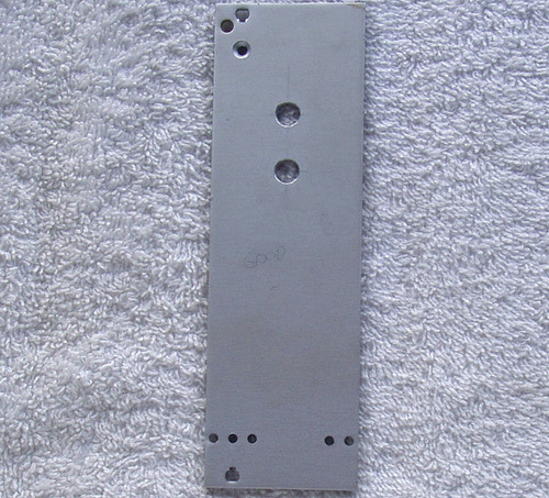 VERO EUROCARD FRONT PANEL 3U 8HP Standard Prepunched Two Holes (Type II)