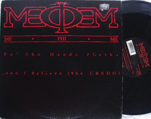 """Hip Hop - ME PHI ME Pu' Sho Hands 2 Getha 12"""" Vinyl 1992"""