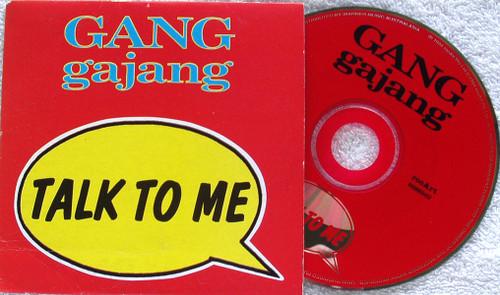 Pop Rock - GANGgajang (Gang Gajang) Talk To Me EP CD 1994