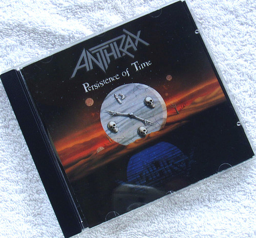 Thrash Metal - ANTHRAX Persistence Of Time CD 1990