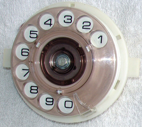 1970's ROTARY TELEPHONE DIAL - PMG/TELECOM Suits Type 802