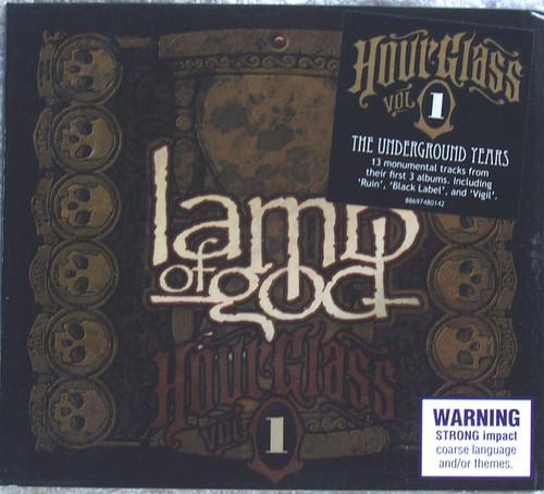 Heavy Metal - LAMB OF GOD Hour Glass Volume 1 CD 2010