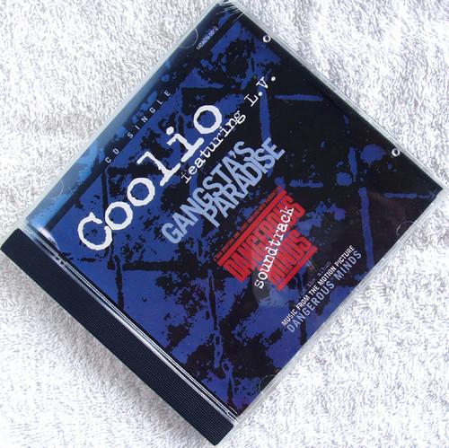 Gangsta Hip Hop - COOLIO Ft L.V Gangsta's Paradise  CD Single 1995