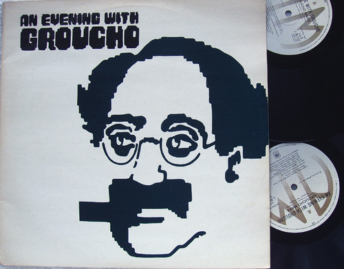 Classical Comedy Spoken Word  - GROUCHO MARX An Evening With  2x Vinyl 1973