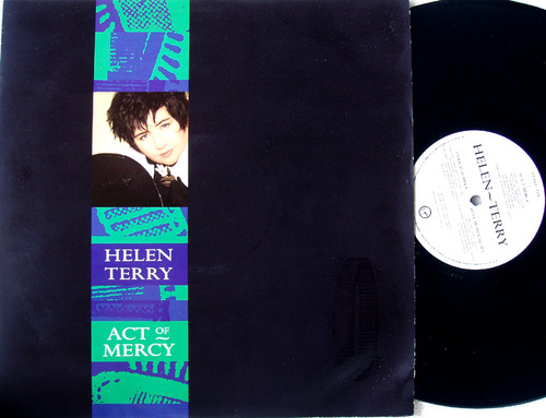 "Downtempo Synth Pop - HELEN TERRY Act Of Mercy 12"" Vinyl 1986"
