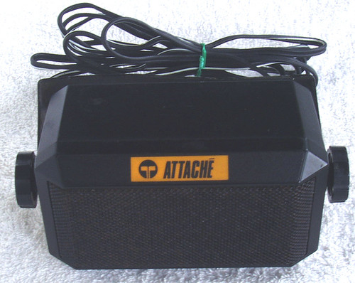 1987 TELECOM Attache Mobile Phone Service Vehicle Extension Speaker