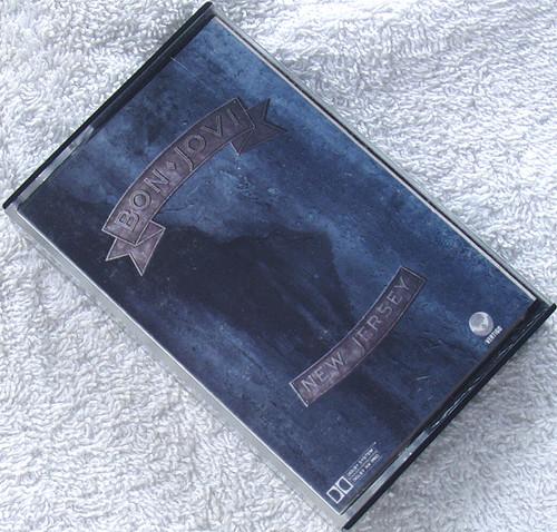Hard Rock - BON JOVI New Jersey Cassette 1988