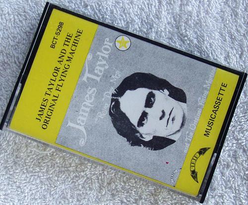 RARE Blues Rock - JAMES TAYLOR Rainy Day Man (1967) Cassette 1971