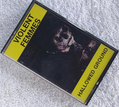 Indie Rock - VIOLENT FEMMES Hallowed Ground Cassette (NZ Issue) 1984