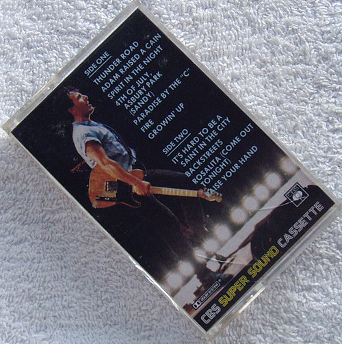 Rock - BRUCE SPRINGSTEEN & THE E STREET BAND Live Cassette 1986