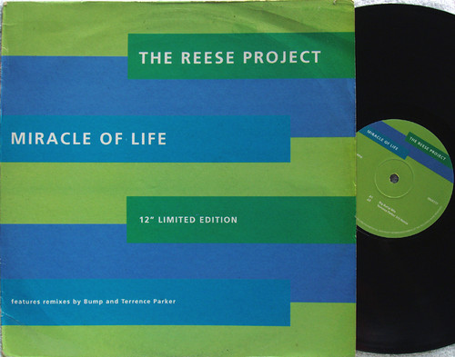 "Garage House - THE REESE PROJECT Miracle Of Life 12"" Vinyl 1993"