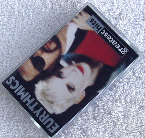 Pop Rock  - EURYTHMICS Greatest Hits Cassette 1991