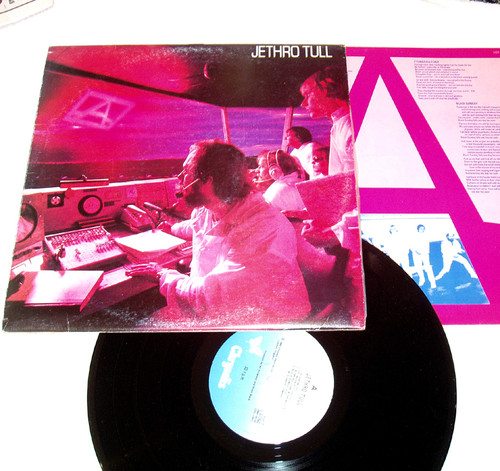 "Progressive Rock - JETHRO TULL ""A"" Vinyl 1980"