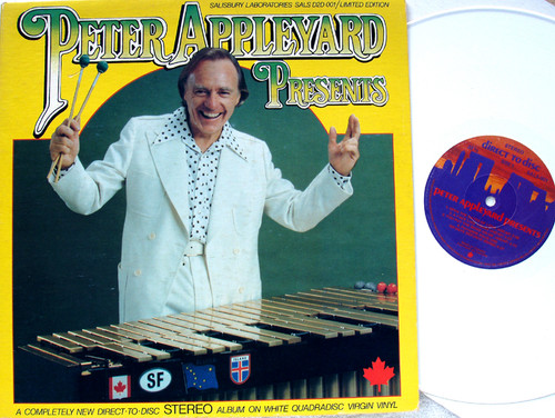 Jazz Funk - PETER APPLEYARD Presents ...  Vinyl (Virgin White Direct 2 Disc) 1977