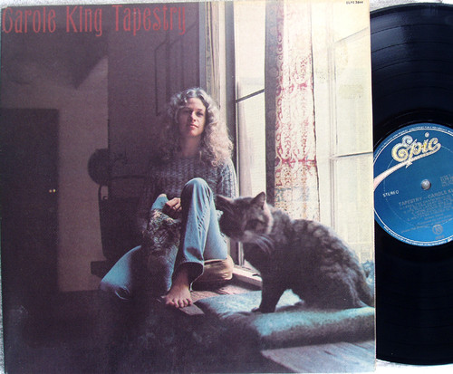 Acoustic Folk Rock  - CAROLE KING Tapestry  Vinyl (Reissue) 1977