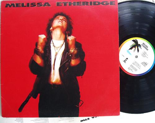 Acoustic Blues Rock - MELISSA ETHERIDGE Self Titled  Vinyl 1988