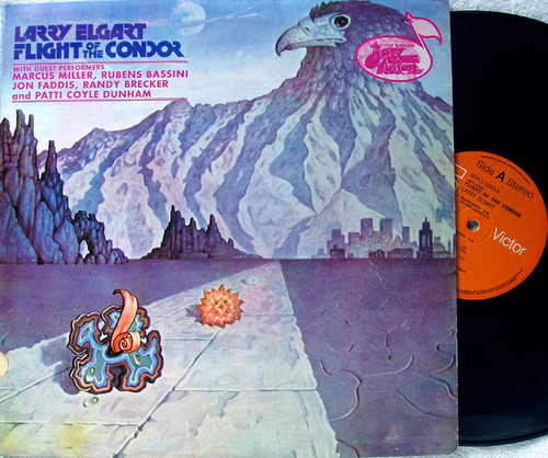 Jazz Funk Fusion - LARRY ELGART Flight Of The Condor Vinyl 1981