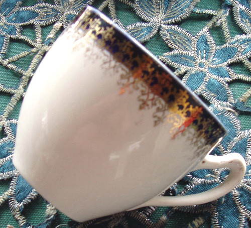 """English Chinaware - ALFRED MEAKIN """"Bleu De Roi"""" Teacup ONLY"""