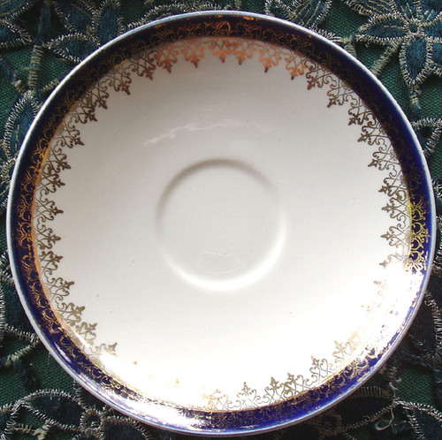 """English Chinaware - ALFRED MEAKIN """"Bleu De Roi"""" Saucer ONLY"""