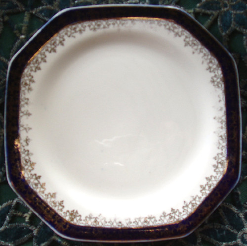 """English Chinaware - ALFRED MEAKIN """"Bleu De Roi"""" Cake Plate ONLY"""