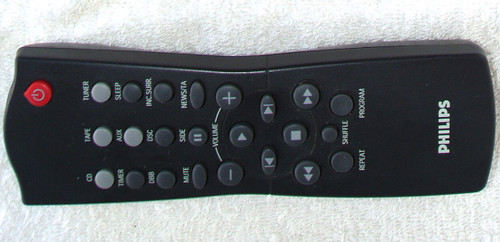 PHILIPS Multisystem  Remote Control (ONLY) RC282424/01 TESTED/WORKING