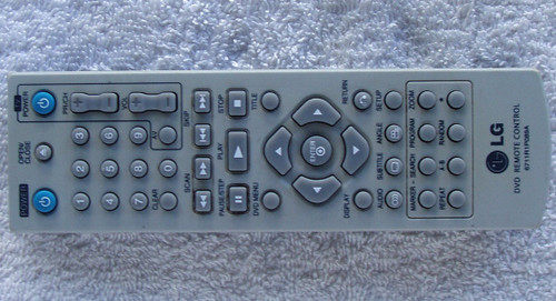 LG Television DVD Remote Control (ONLY) 6711R1P089A TESTED/WORKING