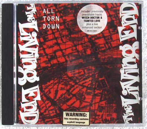 Alternative Punk Rock - THE LIVING END All Torn Down CD Single (Enhanced) 2002