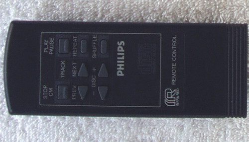 PHILIPS CD Player  Remote Control (ONLY) TESTED/WORKING