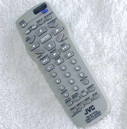 JVC DVD Player Remote Control (ONLY) RM-SXV070A TESTED/WORKING
