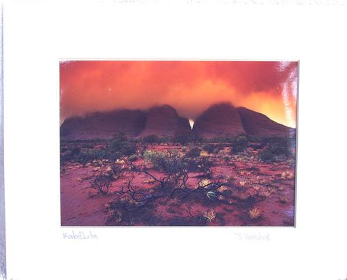 Australian Landscape Photograph KATA TJUTA (J Henshall) 1990's