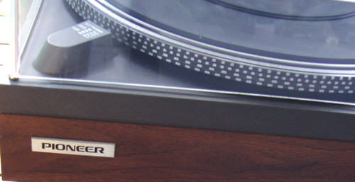 1976 - 1978 High Precision PIONEER Turntable Model: PL-510A (Working)