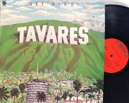 Disco Soul Funk - TAVARES Sky High!  Vinyl 1976