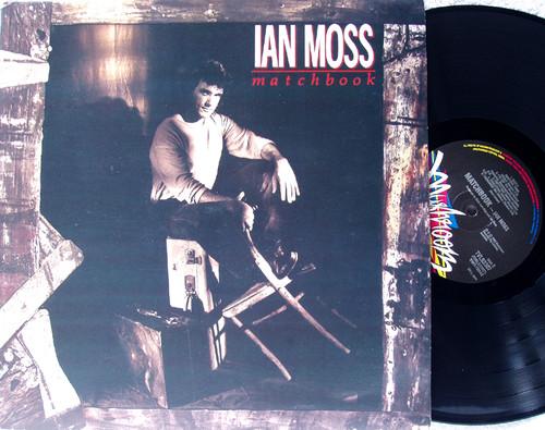 Blues Rock - IAN MOSS Matchbook Vinyl 1989