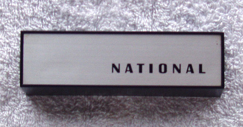 (SPARE PART) NATIONAL Tape Recorder Model: RS-760S  Head Stack Cover