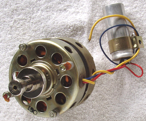 (SPARE PART) NATIONAL Tape Recorder Model: RS-760S  AC Drive Motor Plus