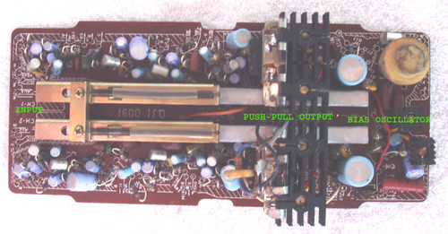 (SPARE PART) NATIONAL Tape Recorder Model: RS-760S  Complete Main PCB