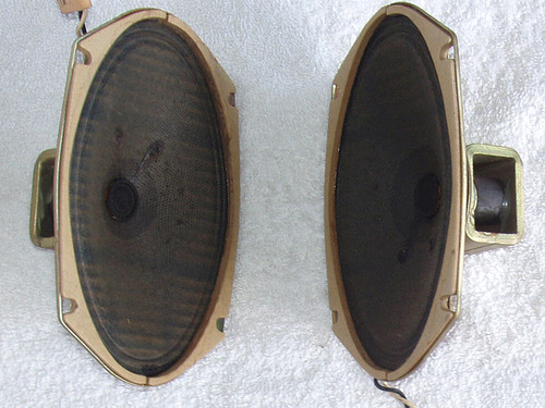 (SPARE PART) NATIONAL Tape Recorder Model: RS-760S  2x Internal Speakers