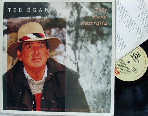 Australian Traditional - TED EGAN This Land Australia  Vinyl 1989
