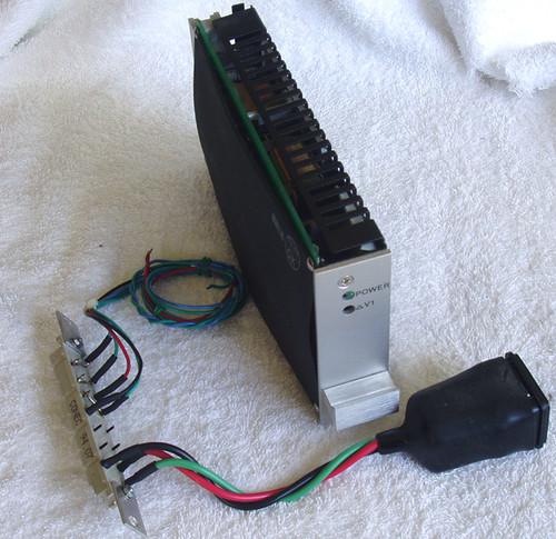 Eurocard (DIN41612) AMTEX SMPS +/- 18V Dual & 5V 45W
