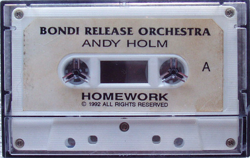 Experimental New Age Tribal - ANDY HOLM Bondi Release Orchestra Cassette 1992