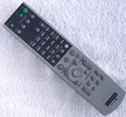 AV System2 Remote Control - SONY RM-U66 (Used/Tested/Working)