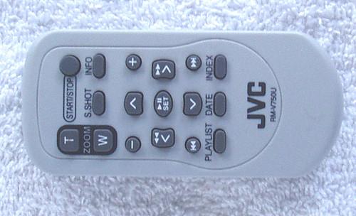 JVC Camcorder Remote Control (ONLY) RM-V750U TESTED/WORKING