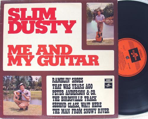Folk Country - SLIM DUSTY Me And My Guitar Vinyl 1972
