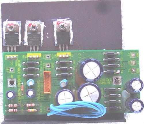 (SPARE PART) BEHRINGER 20 Channel Audio Mixer MX 2004A Power PCB