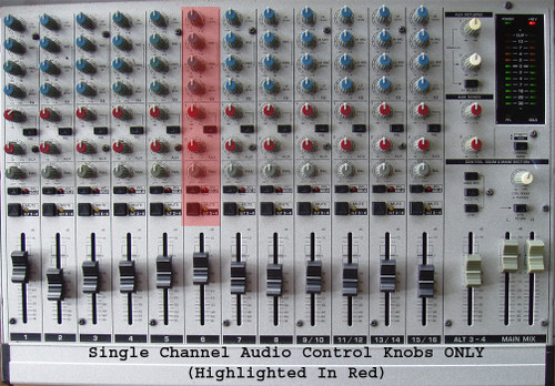 (SPARE PART) BEHRINGER 20 Channel Audio Mixer MX 2004A Channel Knobs